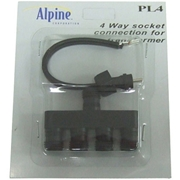 Alpine 4-way Socket Extension