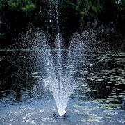 OASE 1/2 HP Floating Fountain with Lights