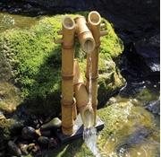 Aquascape Deer Scarer Bamboo Fountain W/ Pump