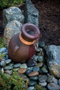 "Aquascape Leaning Vase Fountain Kit 16""- European Terra Cotta"