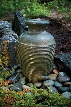 "Aquascape Amphora Vase Fountain 16"" Kit- Green Slate"