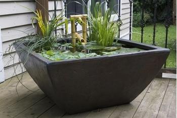"Aquascape Aquatic Patio Pond- Textured Gray Slate 27"" x 27"" x 14.5"""