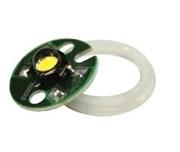 1W LED Bulb- Yellow-HR