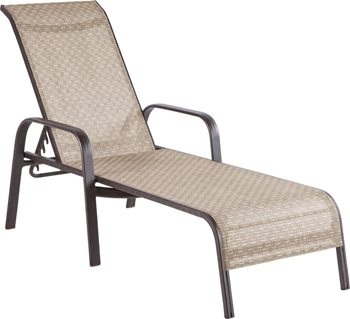 Alfresco Charter Stackable Sling Chaise Lounges