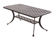 "Alfresco Weave 42"" Rectangular Coffee Table"