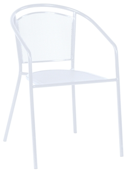 Picture of Alfresco Martini Café Stackable Dining Chair - Bianca Finish - Set of 4 Chairs