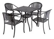 """Alfresco Madina Café Set with 48"""" Round Café Table"""