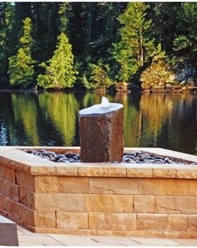 AquaBella Large Column Fountain Kit