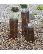 AquaBella Triple Polished Top Basalt Fountain Kit