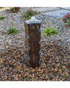 AquaBella Horizontal Cut Polished Basalt Fountain Kit