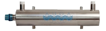AquaUV DW Stainless Steel 15 Watt Sterilizer