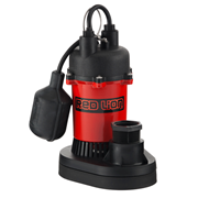 Red Lion Thermoplastic Sump Pump 1/4 HP Tethered Switch