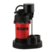 Red Lion Thermoplastic Sump Pump 1/3 HP Vertical Switch