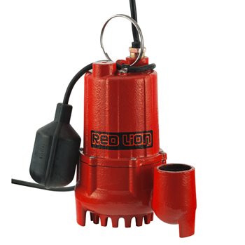 Red Lion Cast Iron Sump 1/3 HP Tethered Switch