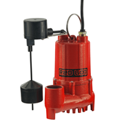 Red Lion Cast Iron Sump 1/2 HP Vertical Switch