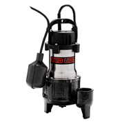 Red Lion Submersible Stainless Steel Sump Pump 1/2 HP Tethered Switch