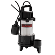 Red Lion Submersible Stainless Steel Sump Pump 1 HP Tethered Switch