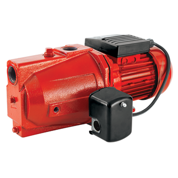 Red Lion Cast Iron Shallow Well Jet Pump - 3/4 HP